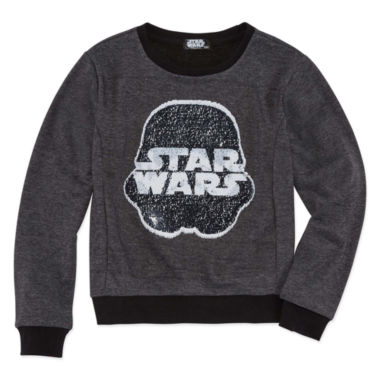 Star Wars Reverse Sequin Sweatshirt - Big Kid Girls