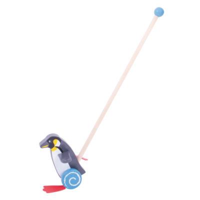 Bigjigs Toys - Push Along Penguin