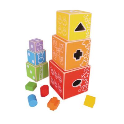 Bigjigs Toys - Stacking Cubes