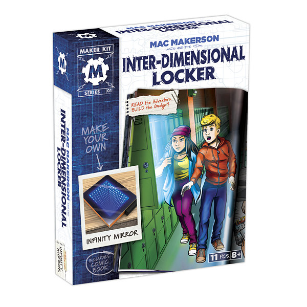 Smart Lab Toys - Mac Makerson: Interdimensional Locker