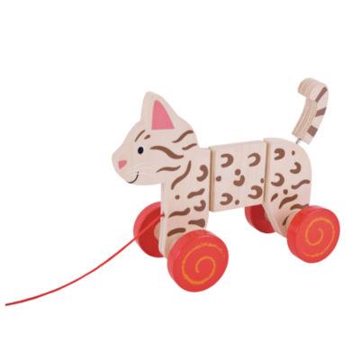 Bigjigs Toys - Pull Along Cat