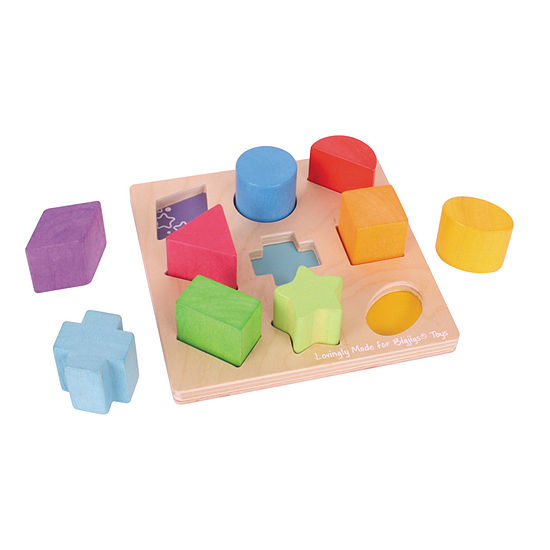 Bigjigs Toys- First Shapes Board