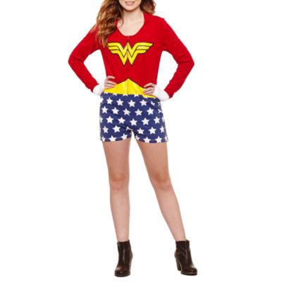 Wonder Woman Romper-Juniors