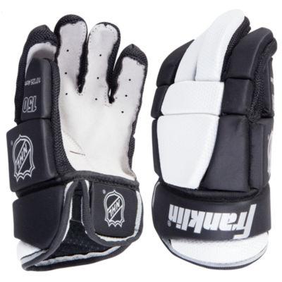 "Franklin Sports NHL HG 150 Hockey Gloves: Jr M 11"""