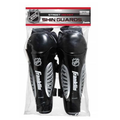"Franklin Sports NHL SG 175 Hockey Shin Guards: JrS/M 9"""