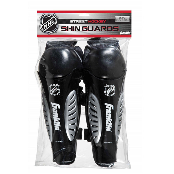 Franklin Sports NHL SG 175 Hockey Shin Guards: JrS/M 9""