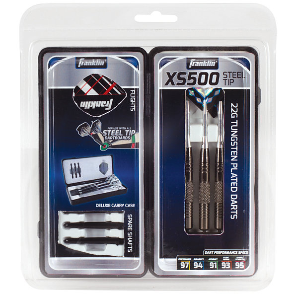 Franklin Sports XS500 Steel Tip Darts