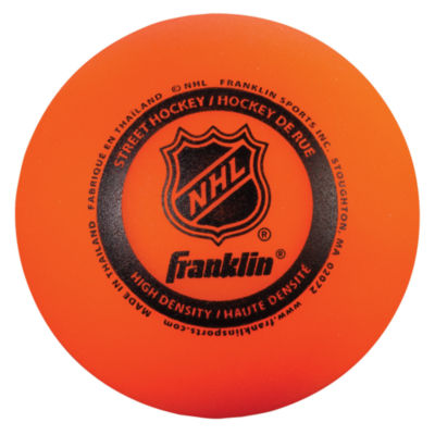 Franklin Sports NHL Hi Density Ball 3 Pack