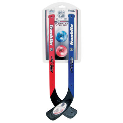 Franklin Sports NHL Flexplay 2-Player Stick & BallSet
