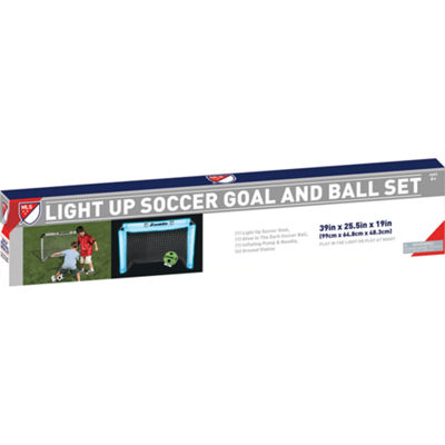 Franklin MLS Light Up Goal and Ball Set