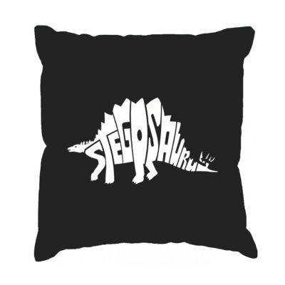 Los Angeles Pop Art STEGOSAURUS Throw Pillow Cover