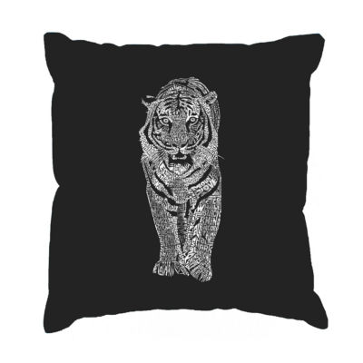 Los Angeles Pop Art TIGER Throw Pillow Cover