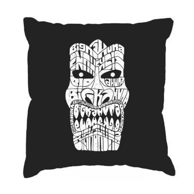Los Angeles Pop Art TIKI - BIG KAHUNA Throw PillowCover