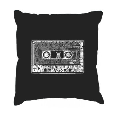 Los Angeles Pop Art The 80's Throw Pillow Cover