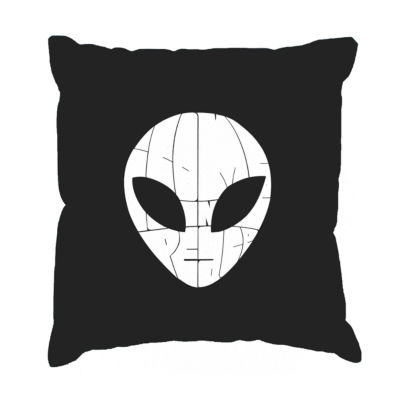 Los Angeles Pop Art I COME IN PEACE Throw Pillow Cover