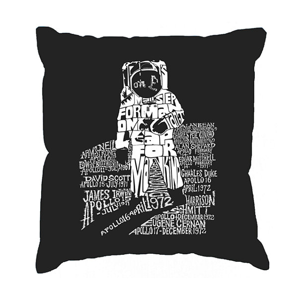 Los Angeles Pop Art ASTRONAUT Throw Pillow Cover