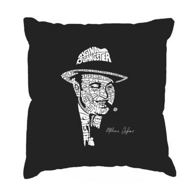 Los Angeles Pop Art AL CAPONE-ORIGINAL GANGSTER Throw Pillow Cover