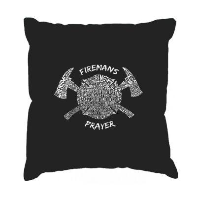 Los Angeles Pop Art FIREMAN's PRAYER Throw PillowCover