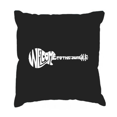 Los Angeles Pop Art  Welcome to the Jungle Throw Pillow Cover