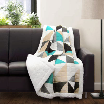 Lush Decor Lush Decor Abner Geo Throw