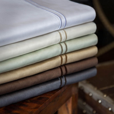 Malouf Woven 600 Thread Count Egyptian Cotton Pillowcase Set