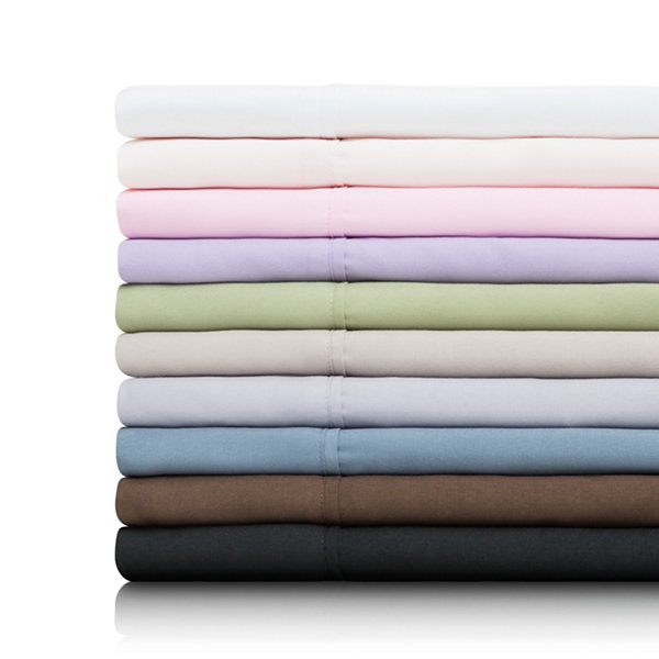 Malouf Woven Double Brushed Microfiber Pillowcase Set