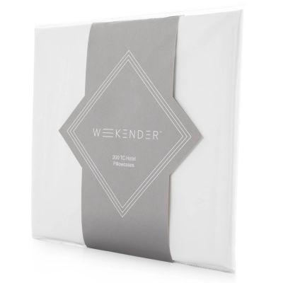 Weekender 200 Thread Count Hotel Pillowcase Set of 2
