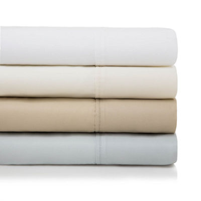 Malouf Woven 600 Thread Count Cotton Blend Pillowcase Set