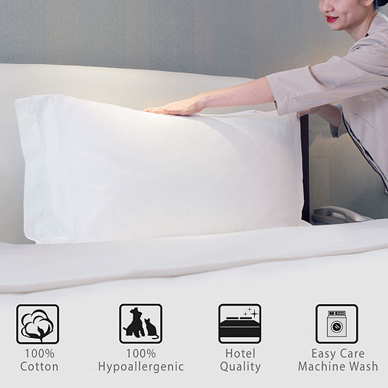 Hotel Laundry Set Of 2 Never Goes Flat Gel Pillow