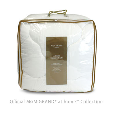 MGM Grand At Home Faux Mink Plush Fiberbed