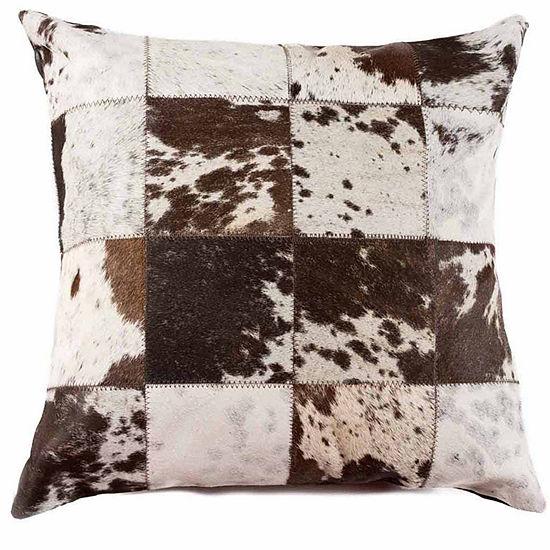 Belton Faux Fur Throw Pillow