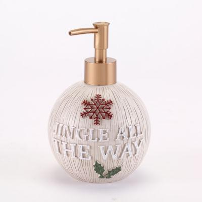 Avanti Holiday Words Soap Dispenser