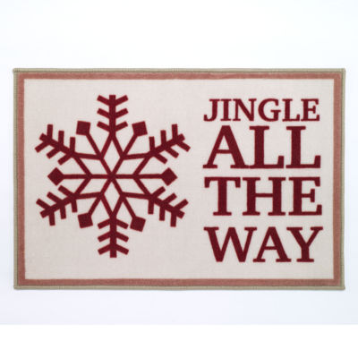Avanti Holiday Words Bath Rug