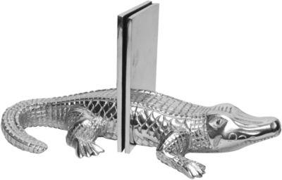 St. Croix Trading Cast Aluminum Alligator Bookends