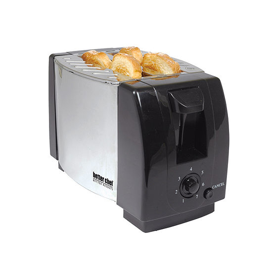 Better Chef 2 Slice Stainless Steel Toaster