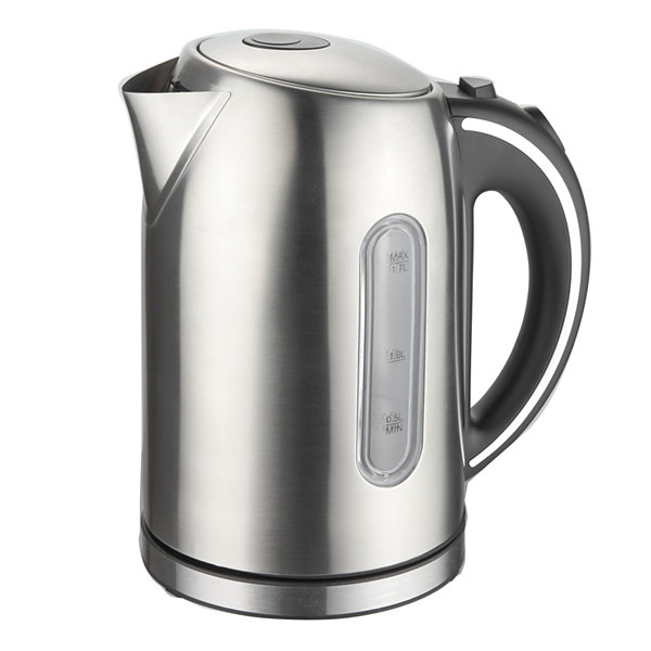 Megachef 1.7Liter Stainless Steel Electric Tea Kettle