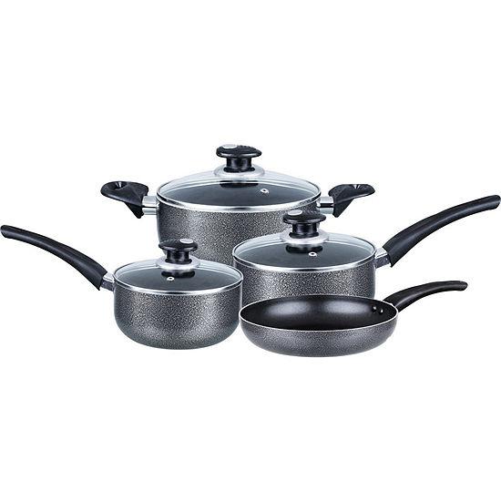 Brentwood 7 Pc Aluminum Non Stick Cookware