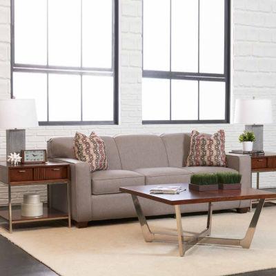Sleeper Possibilities Track Arm Fabric Sleeper Sofa