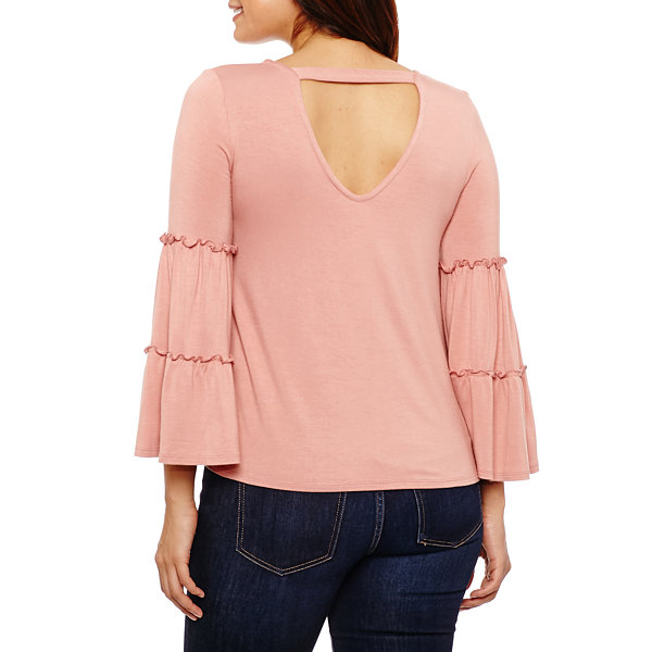 Bold Elements Tiered Sleeve Top