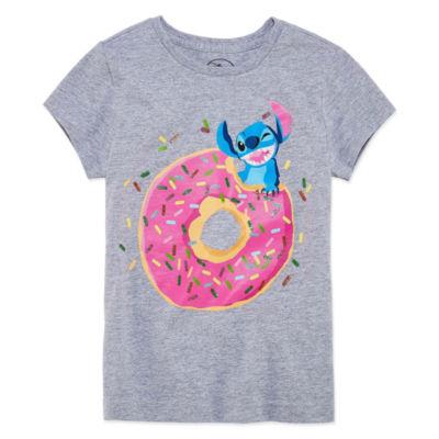 Disney Lilo & Stitch Graphic T-Shirt-Big Kid