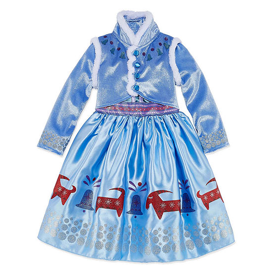 Disney Collection Frozen Anna Costume Girls