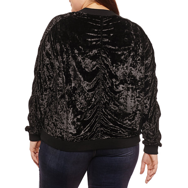 Project Runway Bomber Jacket-Plus