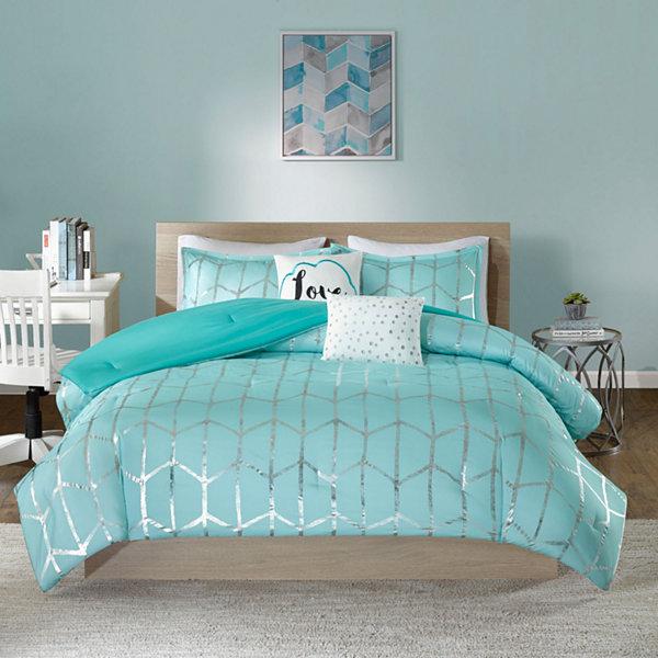 Intelligent design khloe comforter set jcpenney - Jcpenney childrens bedroom furniture ...