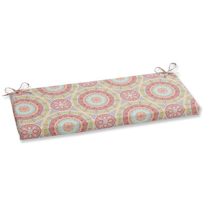 "Pillow Perfect 40"" Outdoor Delancey Bench Cushion"