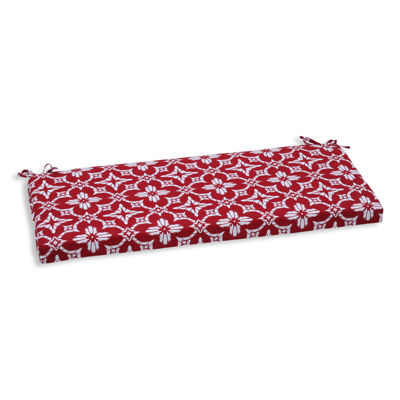 "Pillow Perfect 40"" Outdoor Aspidoras Bench Cushion"