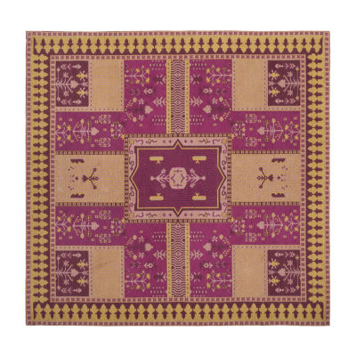 Safavieh Classic Vintage Collection Waylon Geometric Square Area Rug
