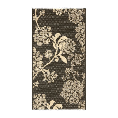 Safavieh Courtyard Collection Cole Floral Indoor/Outdoor Area Rug