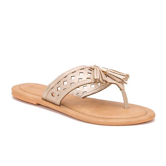 Olivia Miller Womens Flip-Flops