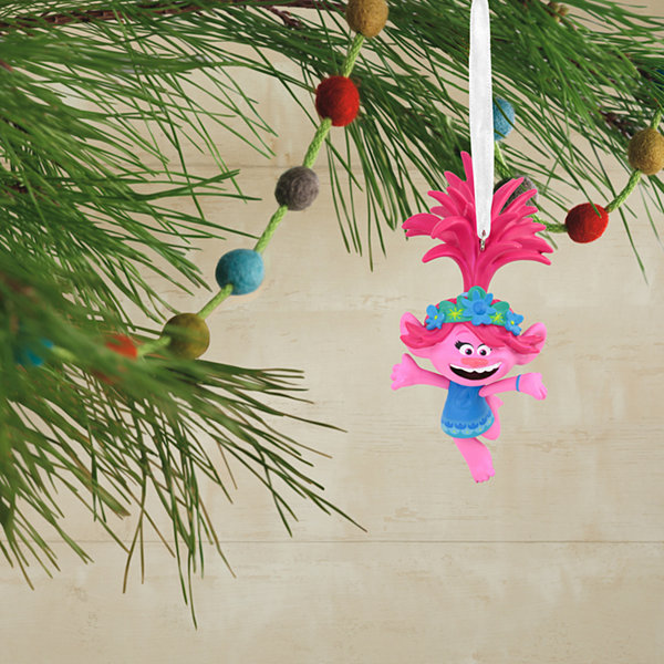Hallmark Trolls Poppy Christmas Ornament