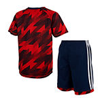 adidas Baby Boys 2-pc. Short Set